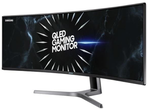 "Монитор49""SAMSUNGC49RG90SSI,Black/Gray"